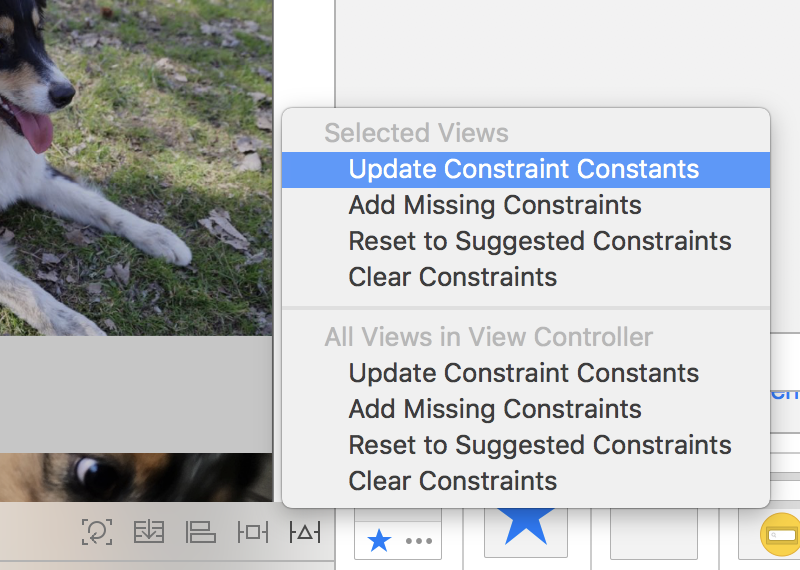 Update constraint constants to use the canvas position and size