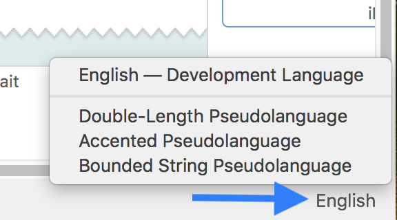 Test localization with longer text in Xcode Preview