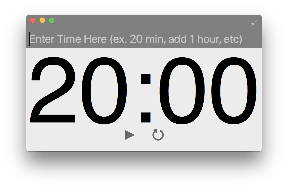 Super Easy Timer beta