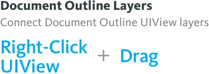 Add constraints between Document Outline Layers