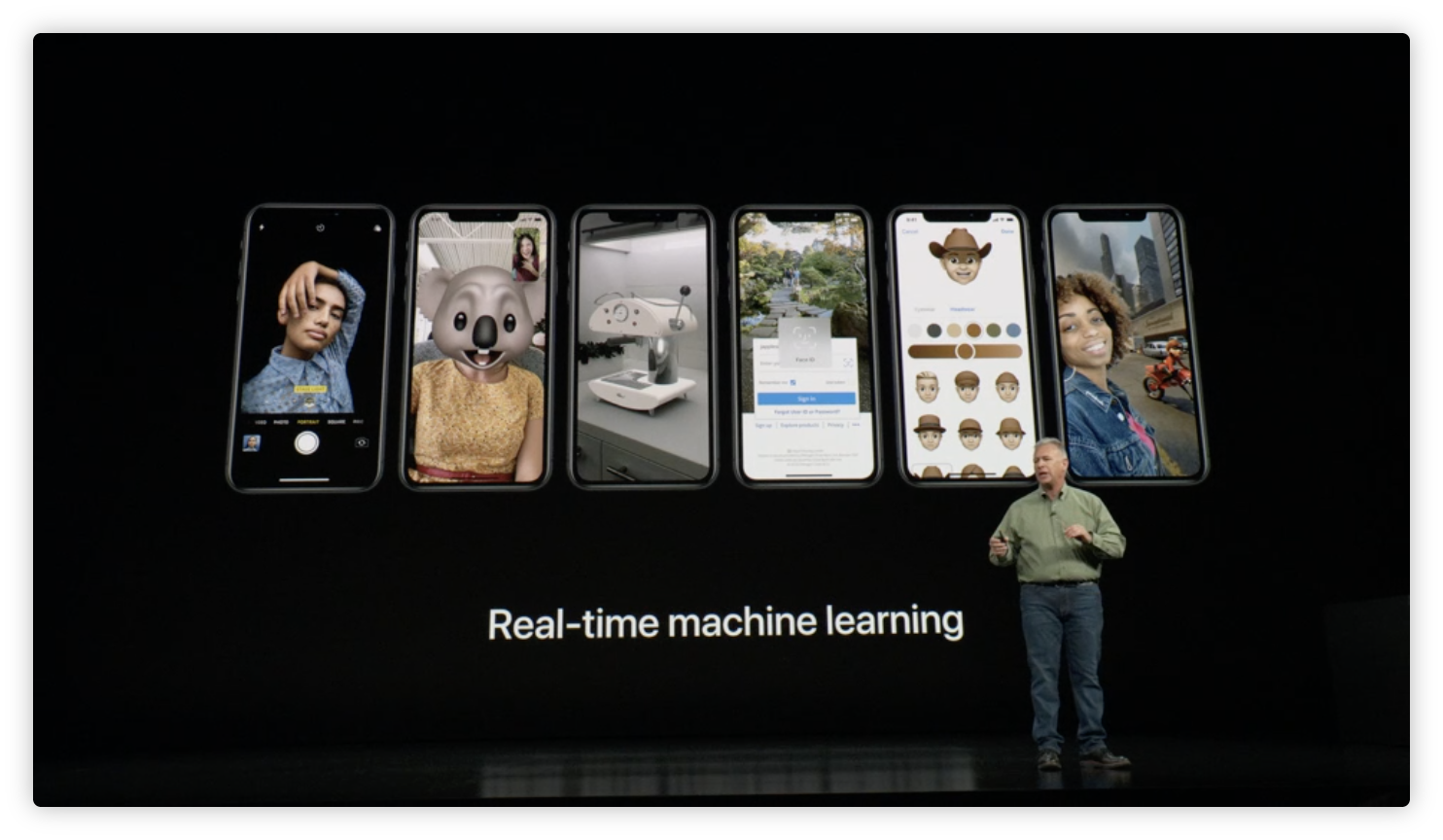 Real-time-machine-learning-iPhone-Xs