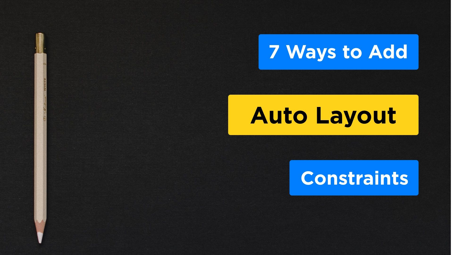 7 Ways to Add Auto Layout Constraints Using the Storyboard in Xcode 9